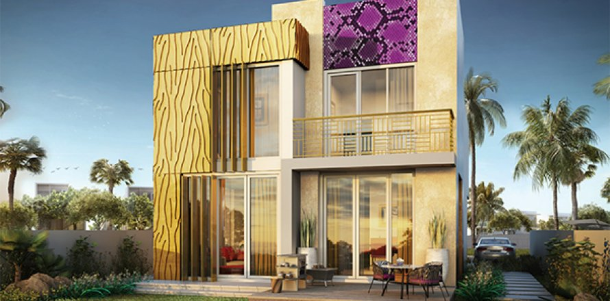 Villa in The Roots Akoya Oxygen, Dubai, UAE 3 bedrooms, 200 sq.m. № 1548