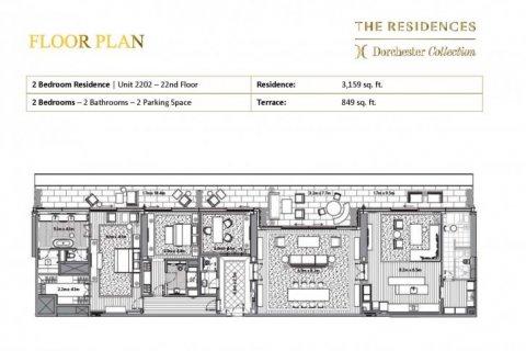 Apartment in Dubai, UAE 2 bedrooms, 372 sq.m. № 6659 - photo 11