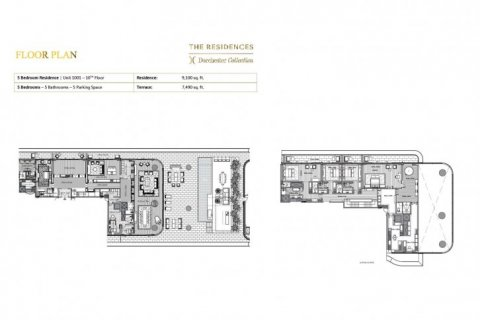 Penthouse in Dubai, UAE 5 bedrooms, 1541 sq.m. № 6635 - photo 11