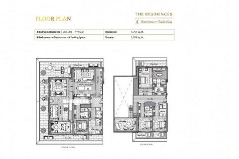 Duplex in Dubai, UAE 4 bedrooms, 717 sq.m. № 6644 - photo 11