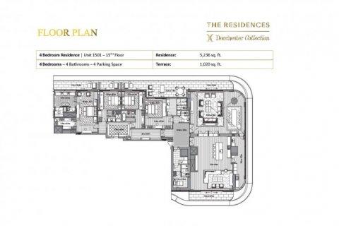 Apartment in Dubai, UAE 4 bedrooms, 581 sq.m. № 6642 - photo 11