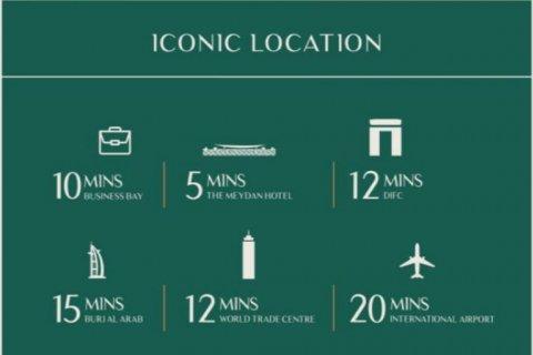Apartment in Dubai, UAE 2 bedrooms, 102.2 sq.m. № 3322 - photo 1