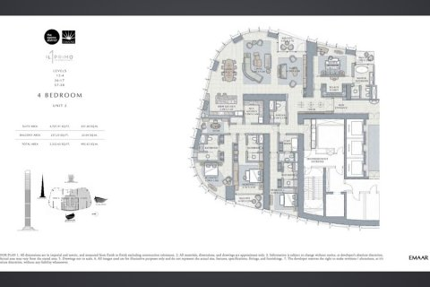 Apartment in Dubai, UAE 4 bedrooms, 500.1 sq.m. № 4363 - photo 3