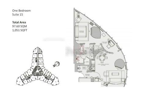Apartment in Downtown Dubai (Downtown Burj Dubai), Dubai, UAE 1 bedroom, 97.6 sq.m. № 5096 - photo 10