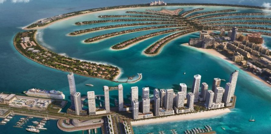Apartment in Dubai Harbour, Dubai, UAE 1 bedroom, 73 sq.m. № 6610
