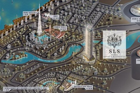 Duplex in Business Bay, Dubai, UAE 2 bedrooms, 178.4 sq.m. № 4606 - photo 8