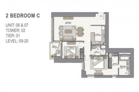 Apartment in Dubai Marina, Dubai, UAE 2 bedrooms, 109 sq.m. № 6704 - photo 11
