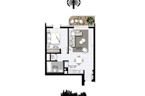 Apartment in Dubai Marina, Dubai, UAE 1 bedroom, 69.3 sq.m. № 4885 - photo 15