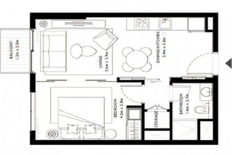 Apartment in Dubai Hills Estate, Dubai, UAE 1 bedroom, 45 sq.m. № 6649 - photo 15