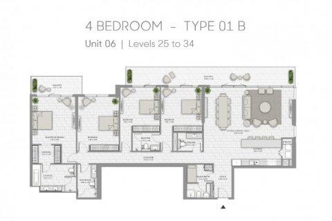 Apartment in Jumeirah Beach Residence, Dubai, UAE 4 bedrooms, 283 sq.m. № 6686 - photo 13