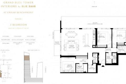 Apartment in Dubai Harbour, Dubai, UAE 3 bedrooms, 205 sq.m. № 6609 - photo 15