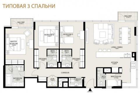 Apartment in Mohammed Bin Rashid City, Dubai, UAE 3 bedrooms, 185 sq.m. № 6646 - photo 12