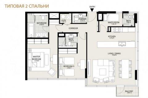 Apartment in Mohammed Bin Rashid City, Dubai, UAE 2 bedrooms, 109 sq.m. № 6648 - photo 12