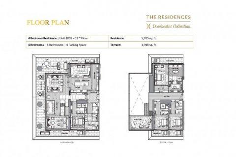 Duplex in Dubai, UAE 4 bedrooms, 717 sq.m. № 6657 - photo 10