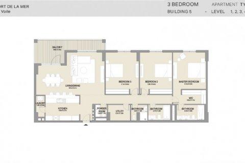 Apartment in Jumeirah, Dubai, UAE 3 bedrooms, 186 sq.m. № 6599 - photo 11