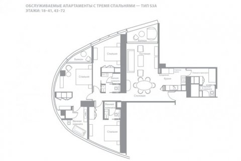 Apartment in Jumeirah Beach Residence, Dubai, UAE 3 bedrooms, 176 sq.m. № 6641 - photo 13