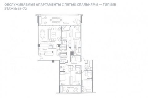 Penthouse in Jumeirah Beach Residence, Dubai, UAE 5 bedrooms, 466 sq.m. № 6622 - photo 14