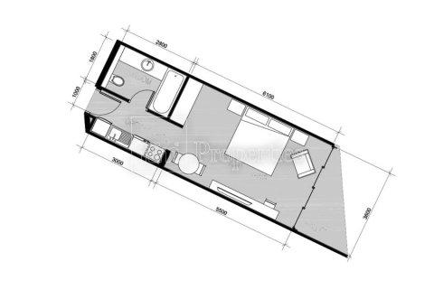 Apartment in Business Bay, Dubai, UAE 41.6 sq.m. № 5027 - photo 2
