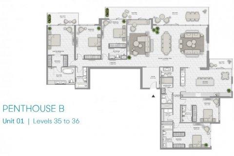 Penthouse in Jumeirah Beach Residence, Dubai, UAE 5 bedrooms, 414 sq.m. № 6680 - photo 14