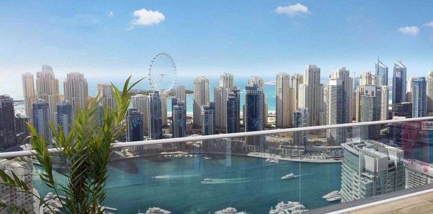Apartment in Dubai Marina, Dubai, UAE 1 bedroom, 69.3 sq.m. № 1817