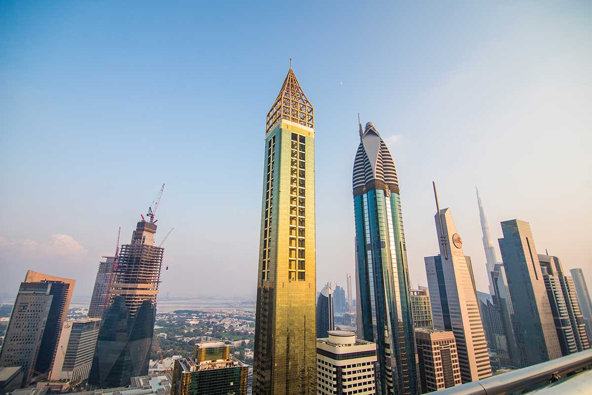 What is the difference between apartments and other housing in Dubai