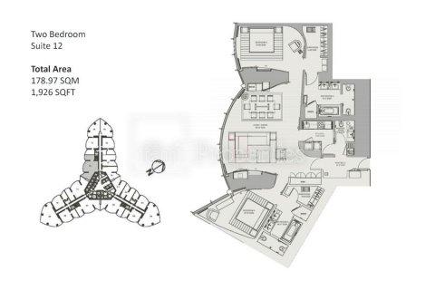 Apartment in Downtown Dubai (Downtown Burj Dubai), Dubai, UAE 2 bedrooms, 178.9 sq.m. № 25761 - photo 23