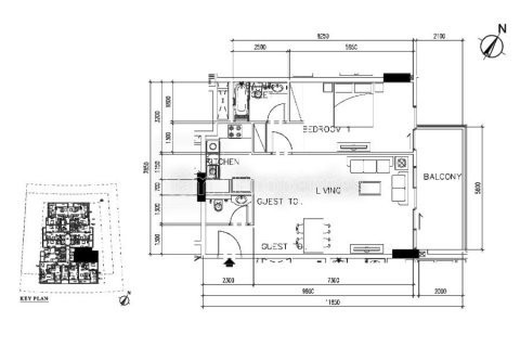 Apartment in Business Bay, Dubai, UAE 1 bedroom, 88.9 sq.m. № 4920 - photo 16