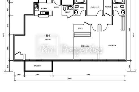 Apartment in Dubai, UAE 1 bedroom, 53.2 sq.m. № 3532 - photo 11