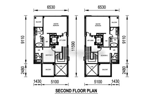 Villa in Al Sufouh, Dubai, UAE 4 bedrooms, 462.7 sq.m. № 4957 - photo 21