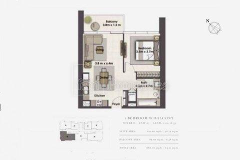 Apartment in Dubai, UAE 1 bedroom, 63.2 sq.m. № 5084 - photo 11