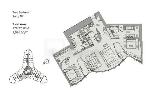 Apartment in Downtown Dubai (Downtown Burj Dubai), Dubai, UAE 2 bedrooms, 178.9 sq.m. № 5073 - photo 25